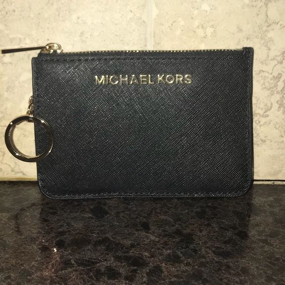 0d9d67beb14cf7 Michael Kors Accessories | Wallet Card Holder With Key Chain Nwt ...